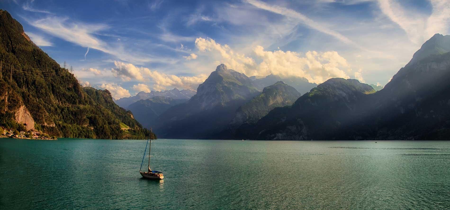 Bootsverleih Vierwaldstaettersee